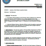 DoD Instruction 5000.02 7 Jan 2015