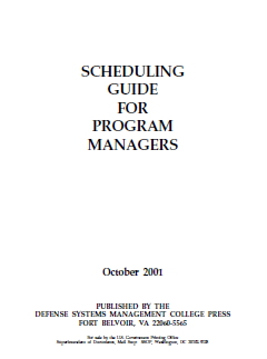 Scheduling Guide for Porgram Managers